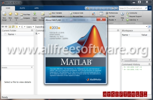 Matlab R2013a v8.1.0.604 with Serial and Crack Full Version Download